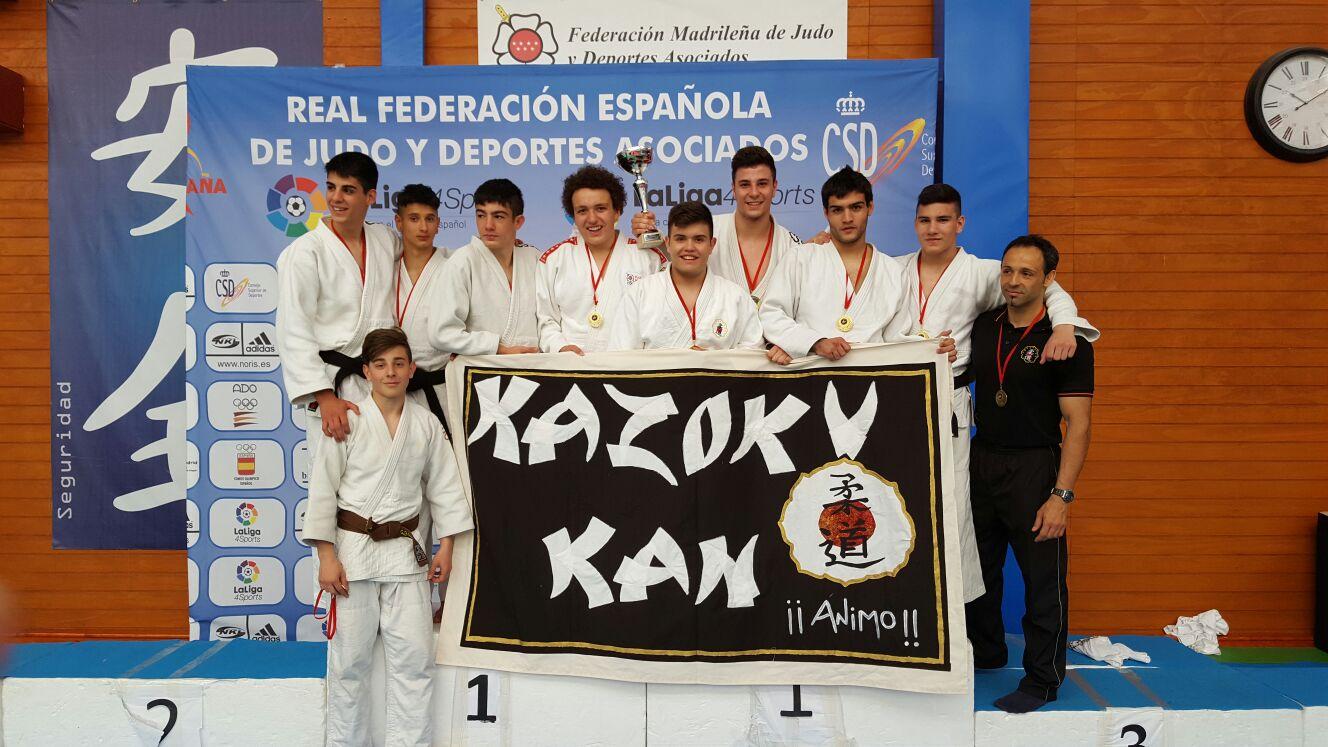 Fase Final de la Liga Autonómica de Clubes de Judo Junior 2016 de la Comunidad de Madrid.