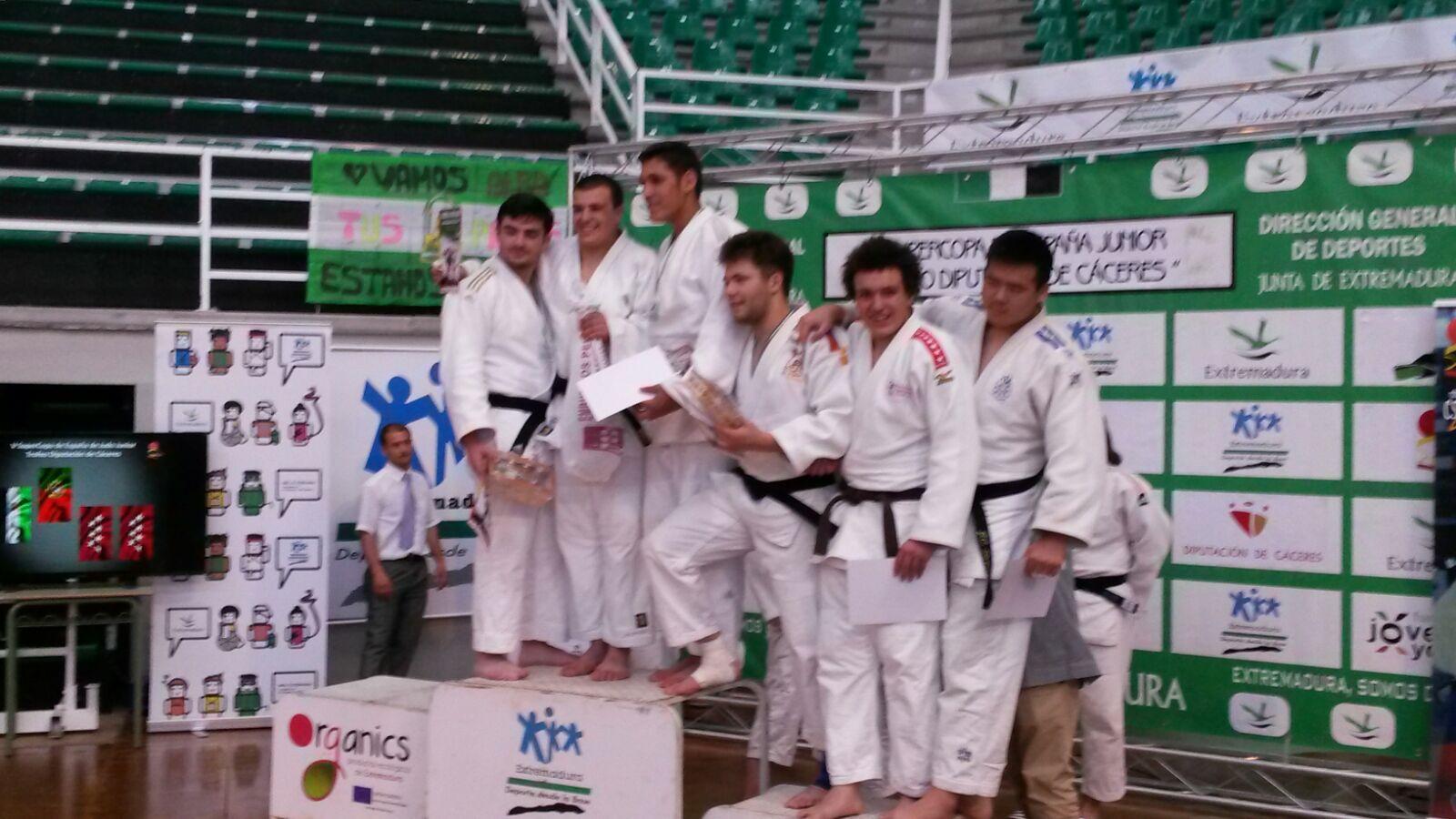Supercopa de España de Judo Junior en Cáceres 2016
