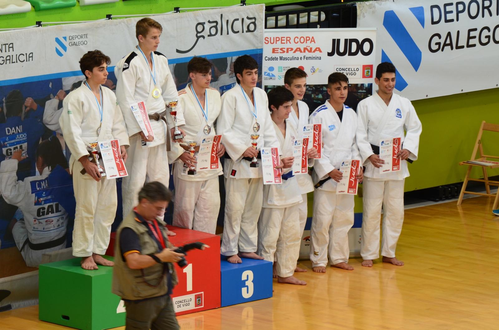 Super Copa de España Cadete de Judo en Vigo 2016